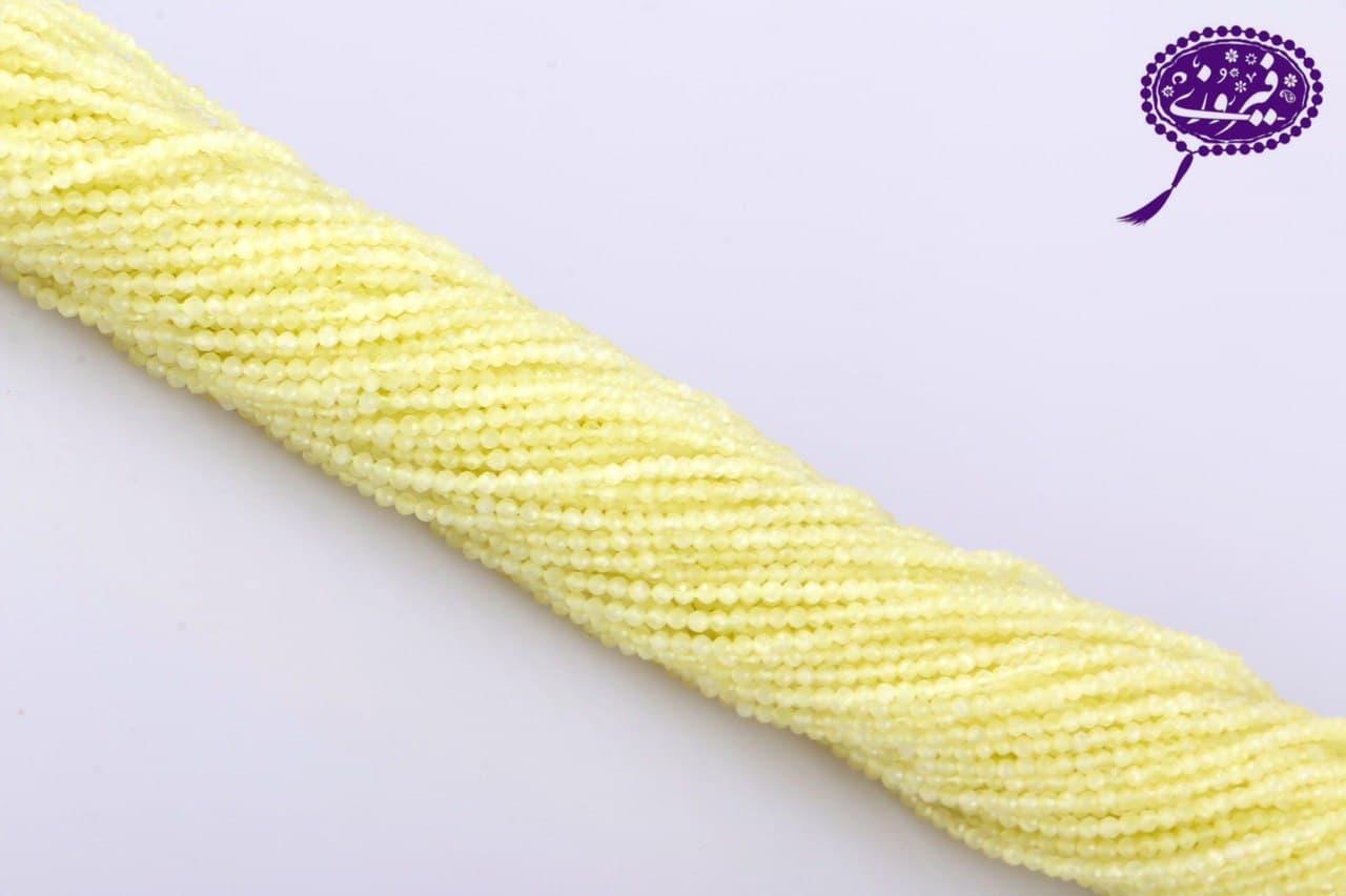 رشته جید تراش جواهری زرد