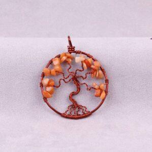 مدال درخت زندگی آونتورین پرتغالی