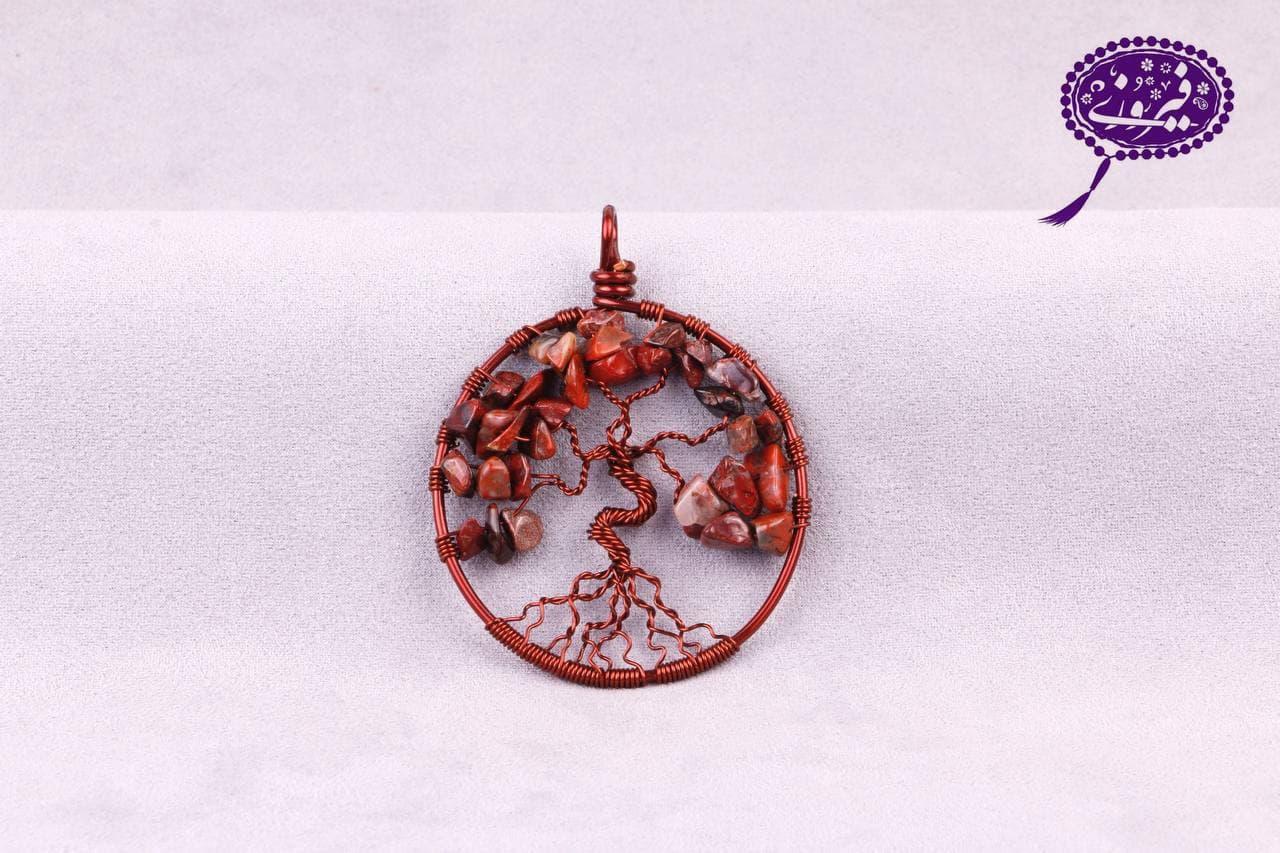 مدال درخت زندگی سنگ خون