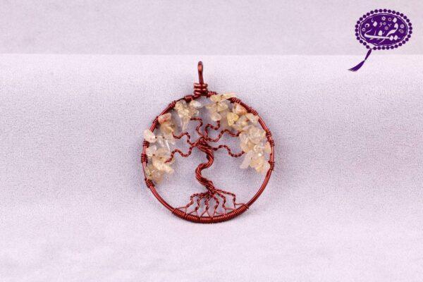 مدال درخت زندگی کوارتز رتایل