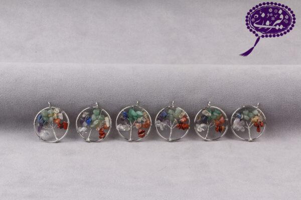 مدال درخت زندگی هفت چاکرا کوچک
